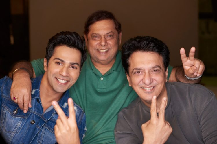 Judwaa 2- Sajid Nadiadwala with David Dhawan and Varun Dhawan