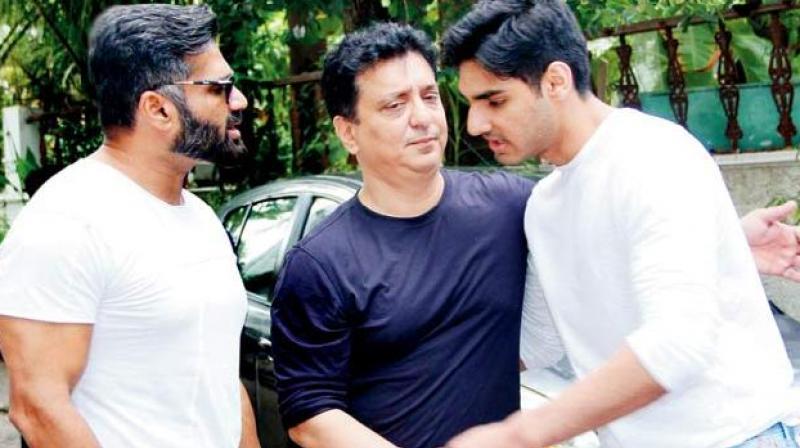 Ahan shetty's debut film RX 100 produced by Sajid Nadiadwala