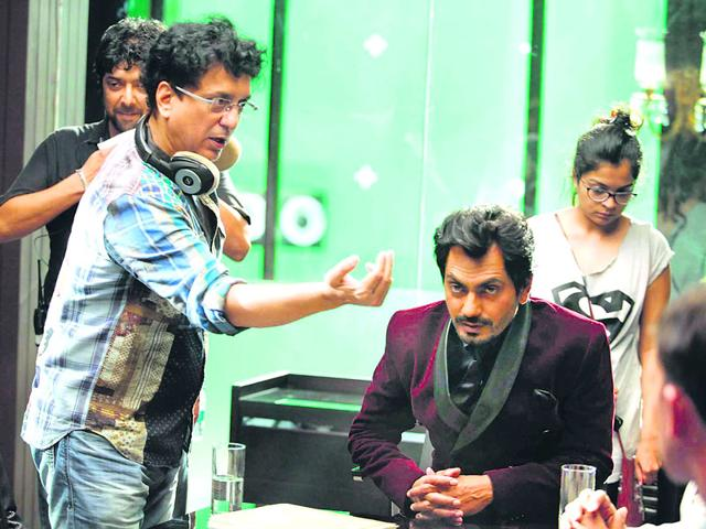 Sajid Nadiadwala on Set of Kick Movie