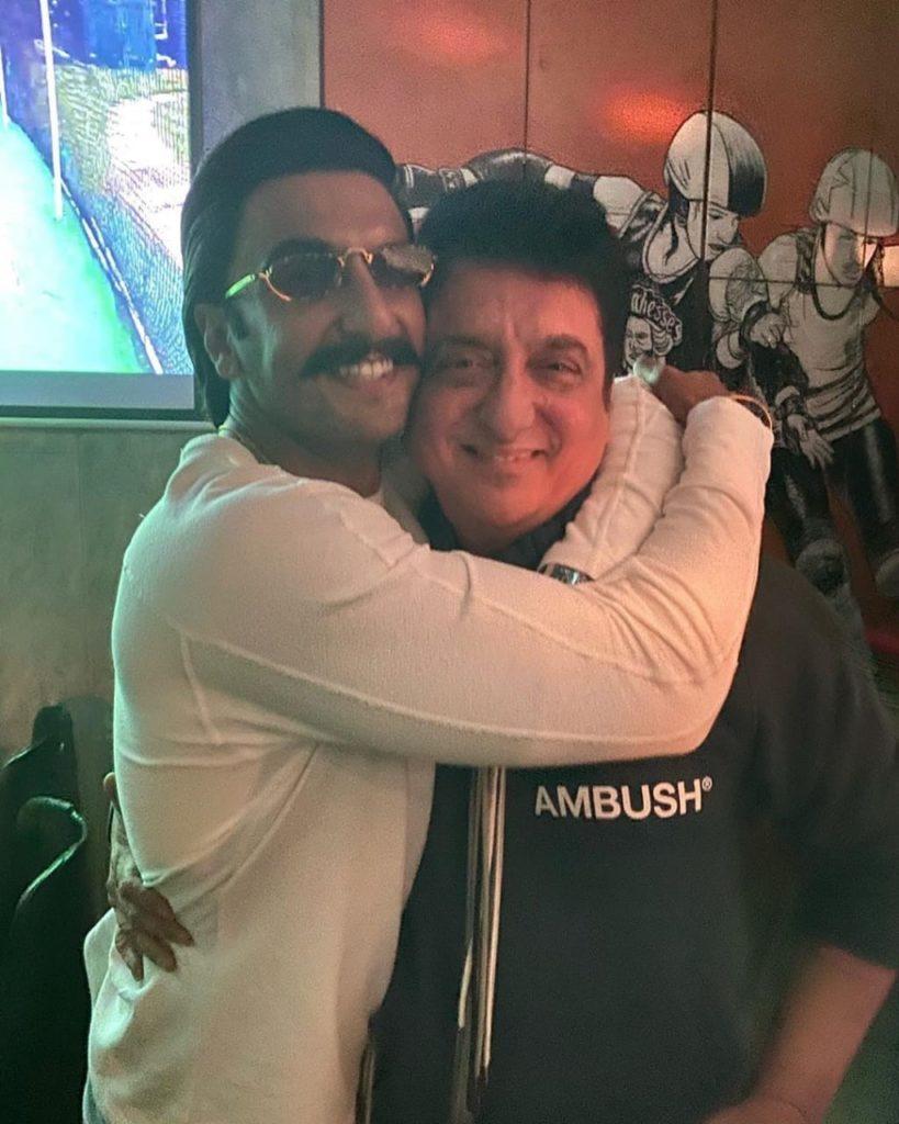Top Indian Producer Sajid Nadiadwala with Ranveer Singh