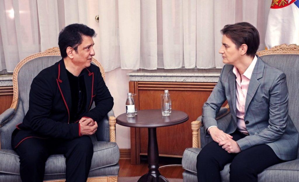 Sajid Nadiadwala Meets Serbian PM Ana Brnabić